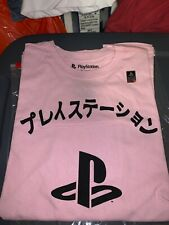 Playstation Pink Tee Ripple Junction PS 1994 Official  XL