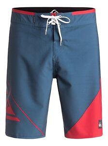 """Quiksilver New Wave 20"""" Swimwear Boardshorts Sz 32"""