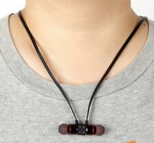 Bluetooth Magnet Wireless  Sports Earphone Headset Headphone For iPhone Samsung