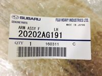 Genuine OEM Subaru 20202AG191 Front Left Lower Control Arm 2008-2011 Impreza