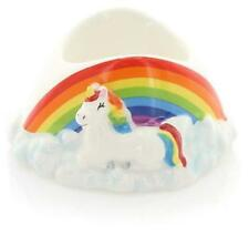 Novelty Ceramic Rainbow Unicorn Egg Cup