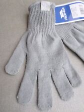 NEW Trespass Satoshi Unisex Knitted Gloves One Size in Dove Grey RRP:£6.99