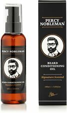 Huile pour barbe de Percy Nobleman - Mélange composé à 99 % d'essences nature...