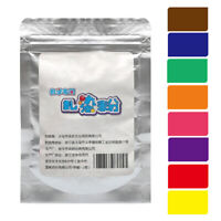 KQ_ DIY Tie Dye Fabric Powder Pigment Paint Color Crafts Decorating Material 25g