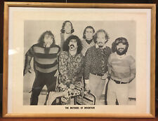 FRANK ZAPPA & MOTHERS OF INVENTION & LOWELL GEORGE 1969 Original Vintage Poster