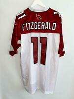 ARIZONA CARDINALS #11 LARRY FITZGERALD ORIGINAL SHIRT JERSEY REEBOK / SIZE 2XL