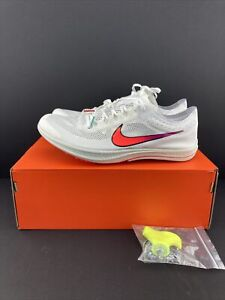 Nike ZoomX Dragonfly Distance Track Running Spike White Ombre Mens 10 CV0400-100