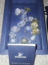 Authentic Swarovski Miniature Top Shells (Members Exclusive) 0880692 Retired