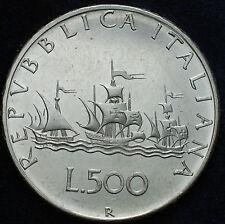 1967  Repubblica Italiana  500  lire   Argento da divisionale della Zecca FDC