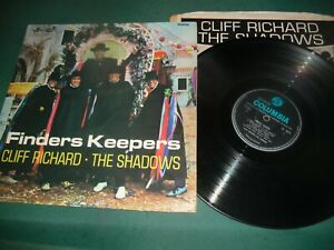 CLIFF RICHARD--THE SHADOWS LP - FINDERS KEEPERS