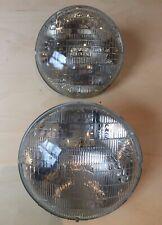 Mercedes Benz W123 set/pair of halogen headlights, Sylvania