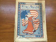 Antique/vintage JULY, 1902 McCALL'S MAGAZINE NEW YORK