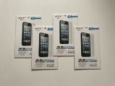 Lot of 4 - IPhone 6+/6s/7+/8+ Plastic Screen Protector - Front & Back