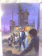 Morgan Kane Original Painting Art Movie Poster Billy Bathgate Hoffman Kidman