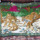 """Vintage Wall Hanging Tigers In Jungle 41-53"""""""