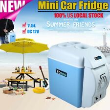 7.5L Portable Travel Car Motor Electric Fridge Mini Refrigerator Cooler Warmer
