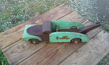 Buddy L Pure Ice 1944 Wooden Wrecker Truck Overall Good Condition!!