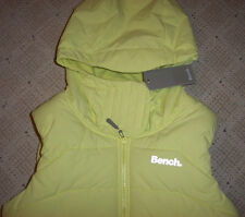 New Bench Clothing Trickster II - Quilted Winter Hoodie Jacket Ski Vest Small S
