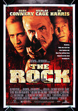 THE ROCK * CineMasterpieces ORIGINAL MOVIE POSTER SEAN CONNERY ALCATRAZ 1996