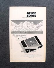 [GCG] M705 - Advertising Pubblicità - 1960 - GELBE SORTE , REEMTSMA