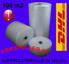 1 KARTON 80m2 LUFTPOLSTERFOLIE IN TEILEN!!!