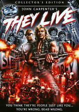 THEY LIVE NEW DVD Collector's Edition John Carpenter Scream Factory Roddy Piper