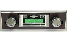 1967 1968 67 68 Chevy Camaro USA 630 II Radio & Bluetooth Kit Walnut ipod USB