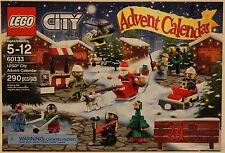 Lego CITY 2016 Advent Calander 60133 - Fire Fighter - Hockey Player- Sealed