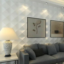 4pcs 3D White Wall Panel Decorative Wall Ceiling Tiles Cladding Board Wallpaper