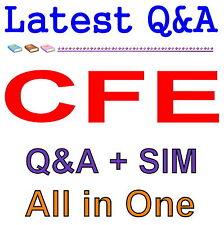 Certified Fraud Examiner CFE Exam Q&A PDF+SIM