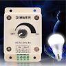 Adjustable 12-24V 8A Light Dimmer Brightness Practical Control LED Lamb Strip CN