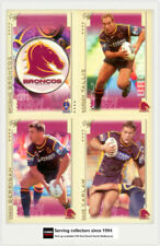 Danny Buderus Team Set NRL & Rugby League Trading Cards