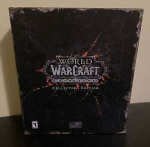 World Of Warcraft: Cataclysm - Collectors Edition (Great Cond) Used Game Key