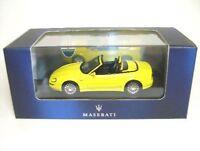 Maserati Spyder cambiocorsa yellow, 1:43, IXO
