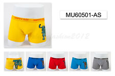 5pc Size 7 6-8 years Comfort Cotton Boys Boxers Briefs Tiger Kids Underwear