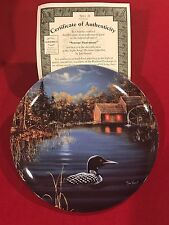 """""""Serene Sanctuary"""" From The Loon Collection By Jim Hansel/ Bradford Exchange"""