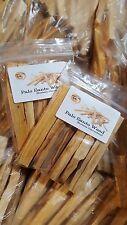 1 Paquete de 12 X Palo Santo Santo silvestres cosechadas bosque sagrado fuerte de incienso