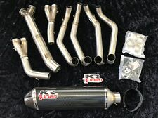 1999-2007 Hayabusa KR Tuned Carbon Fiber Full Exhaust Complete 2006 1810-0984
