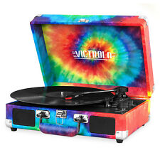Brand NEW Victrola Portable Suitcase Record Player w/ Bluetooth VSC-550BT-TDY
