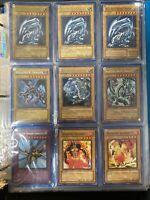 Yugioh Collection Binder 160+ Vintage! 5 Blue Eyes White Dragon, Dark magician