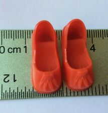Sindy doll Red Tassel Shoes footwear vintage dolls clothes accessories