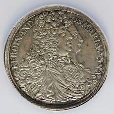 1696 MIM Germany Schwarzenberg Thaler Taler Silver Coin - NGC AU 58 - KM# 17