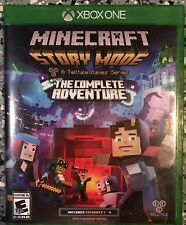 Minecraft: Story Mode - The Complete Adventure Xbox One Mint Condition