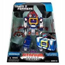 TRANSFORMERS TITANIUM SERIES SOUNDWAVE & LASERBEAK DIE-CAST NEW