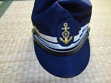 Japanese OLD Maritime Self Defense Forces hat cap medal BADGE NAVY BADGE RARE