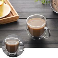 Transparent Double-layer Insulation Coffee Glass Mug Milk Tea Cup Mug Household