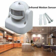180° PIR LED Sécurité Infraroug Détecteur Capteur Mouvement Extérieur Etanche