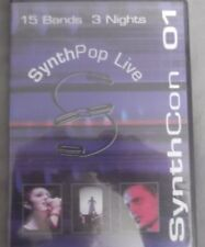 SynthCon 01 Music (DVD) RARE, 15 BANDS, 3 NIGHTS!