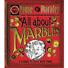 The LITTLE RED BOOK OF MARBLES their uses & games - free post for multi purchase