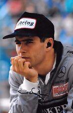 Karl Wendlinger SIGNED   Sauber C13 Portrait    1994 Grand Prix Season